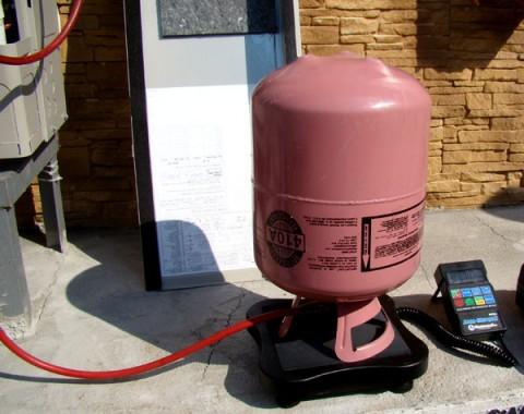 کمبود گاز در کولر گازی اینورتر