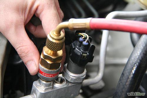 شارژ گاز کولر خودرو